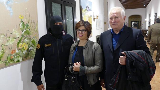 Verona Il comandante Alfa dei Ros incontra Patrizia Tacchella vent'anni dopo averla liberata dai rapitori foto Sartori